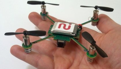 Tiny Robot Helicopter Will Follow You Around, Filming Everything You Do