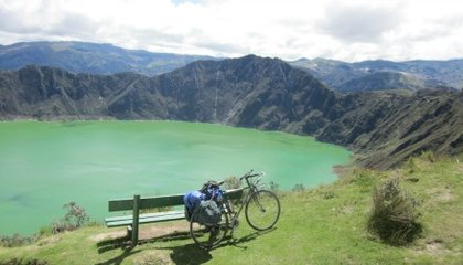 Biking Ecuador's Spectacular Avenue of the Volcanoes