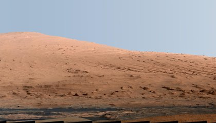 This Mountain Is What Curiosity's Whole Mission Is About