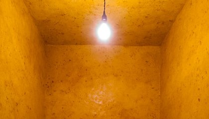The Otherworldly Calm of Wolfgang Laib's Glowing Beeswax Room