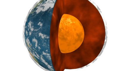 The Center of the Earth Is as Hot as the Sun