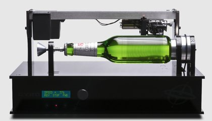 Beer Bottle Meets 19th-Century Phonograph, Makes Beautiful Music