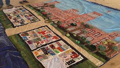 Smithsonian Displays Its Own AIDS Memorial Quilt Panel