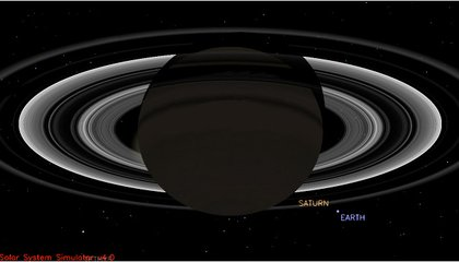 Smile! A Satellite Around Saturn Is About To Take Your Picture