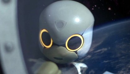 Japan's Kirobo Robot Brings Cute to the Space Station