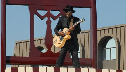 Bust Loose at Chuck Brown Birthday Party at American Art Museum
