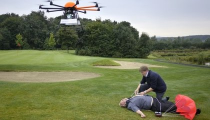 Drones Could Carry Defibrillators Straight to Heart Attack Victims