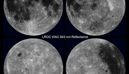NASA's Captured the Intricate Beauty of the Dark Side of the Moon in One Short Video