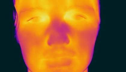 This Photographer Shoots Portraits With a Thermal Camera