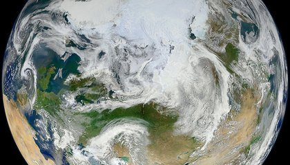 The Arctic Hasn't Been This Hot for 44,000 Years