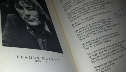 Read Seamus Heaney's Last Known, Previously Unpublished Poem
