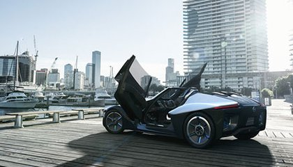 The BladeGlider: Nissan's Concept Car Looks Like a Jet Fighter