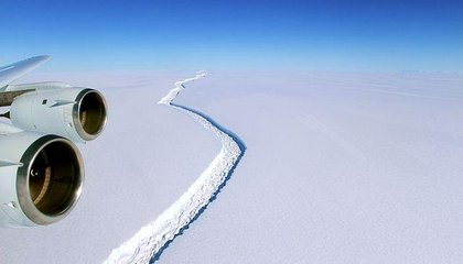An Iceberg Larger Than Rhode Island Is Poised to Break From Antarctica