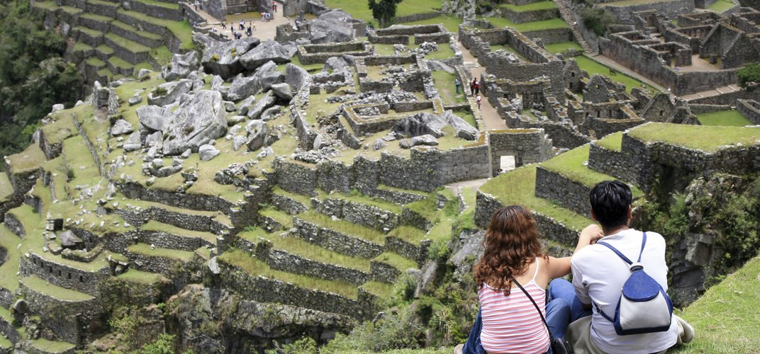 An amazing view of Machu Picchu