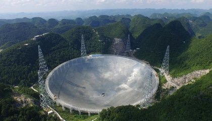 China Switches on the World's Largest Radio Telescope