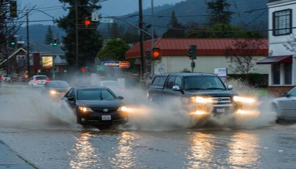 Rivers in the Atmosphere Converge to Give California a Huge Downpour