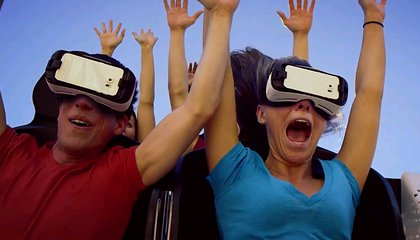Virtual Reality is Coming to Real-Life Rollercoasters