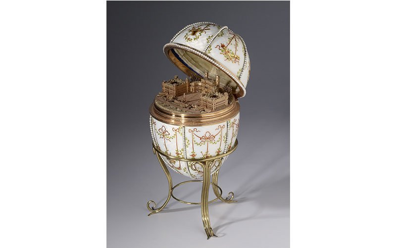 1901 Gatchina Palace Egg at the Walters Art Gallery
