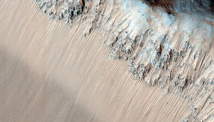 Boiling Water and Jumping Sands on Mars