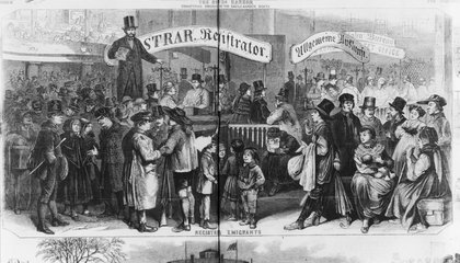 America's First Immigration Center Was Also an Amusement Park