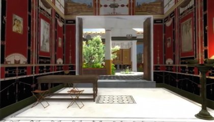 Check Out This 3D Tour of a Villa in Ancient Pompeii