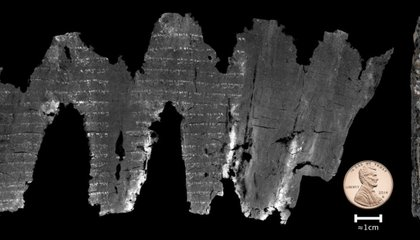 Scientists Virtually Peek Inside Ancient Biblical Charred Scrolls