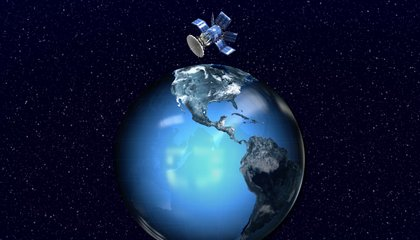 Ask Smithsonian: How Does a Satellite Stay Up?