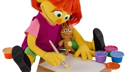 Sesame Street to Introduce Julia, a Muppet with Autism