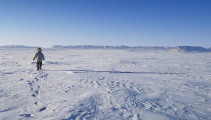 The Snowy, Barren Arctic Actually Contains a Sophisticated Network of Inuit Trails