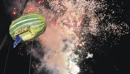 From Opossums to Bologna: Weird Things Cities Drop on New Year's Eve