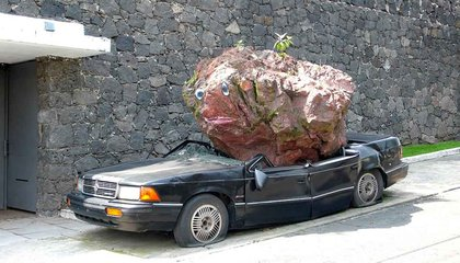 Meet the Man Who Dropped a Boulder on a Chrysler