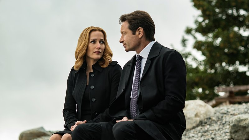 """Skeptic and believer: Gillian Anderson and David Duchovny reprise their roles as FBI special agents Dana Scully and Fox Mulder in a new season of """"The X-Files."""