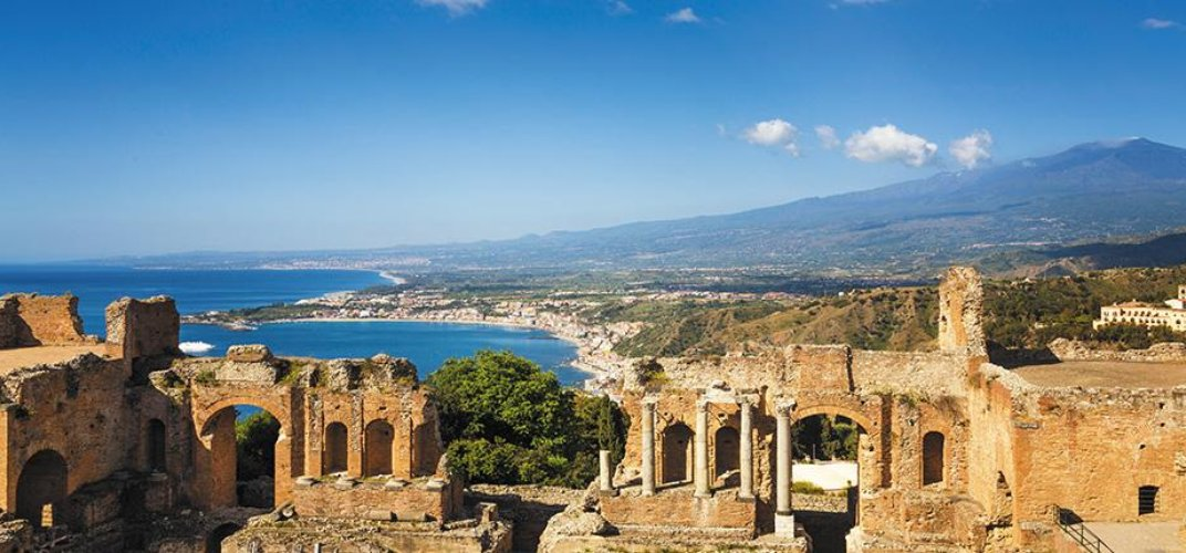 The Greek Theater of Sicily's Taormina