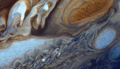 Jupiter's Great Red Spot Is Also Red Hot