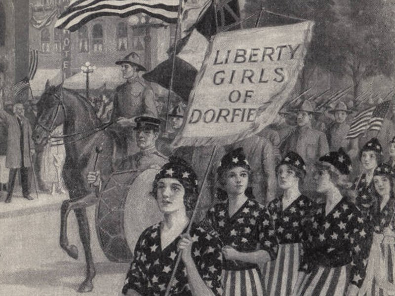Mary Louise & the Liberty Girls