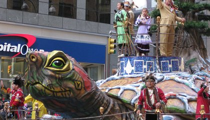 American Indian Museum in Macy's Thanksgiving Parade