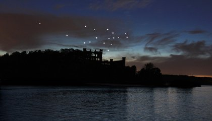 An Abandoned Island Now Glows Star-Bright Under a New Constellation