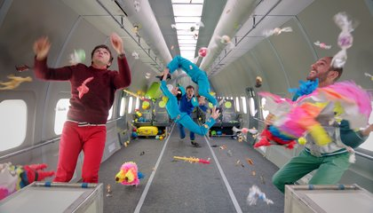OK Go Shot Their Latest Music Video in Microgravity