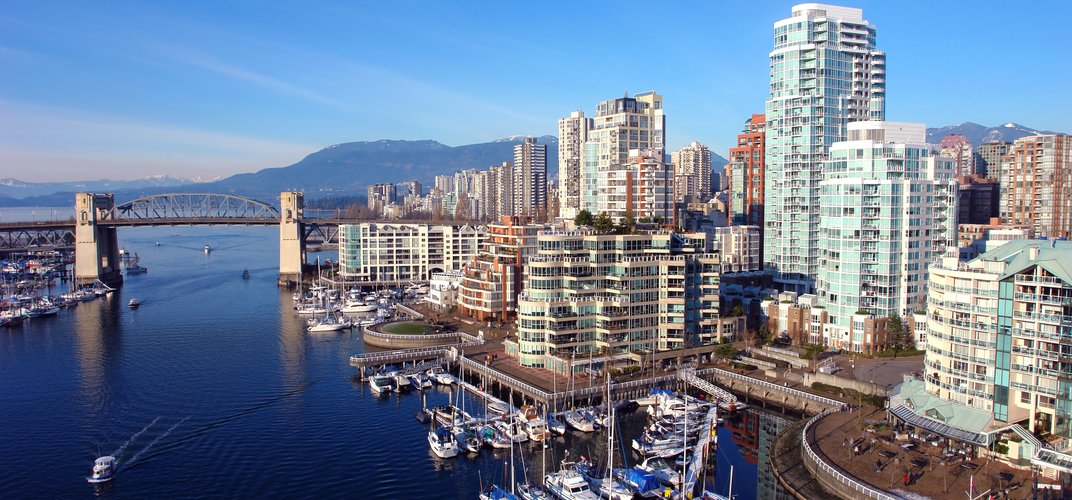 The dynamic cityscape of Vancouver