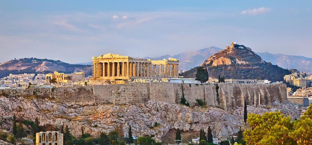 The magnificent Acropolis in Athens