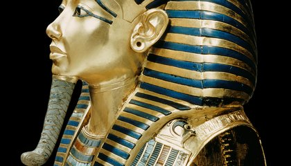 King Tut's Beard Fell Off...And Was Glued Back on With Epoxy