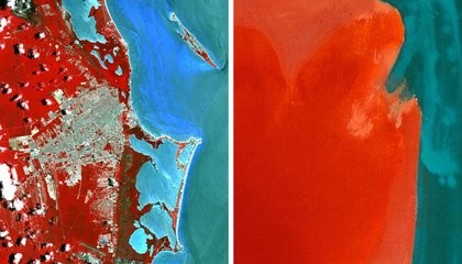 These Photos Taken From Space Look Astonishingly Like Art Masterpieces