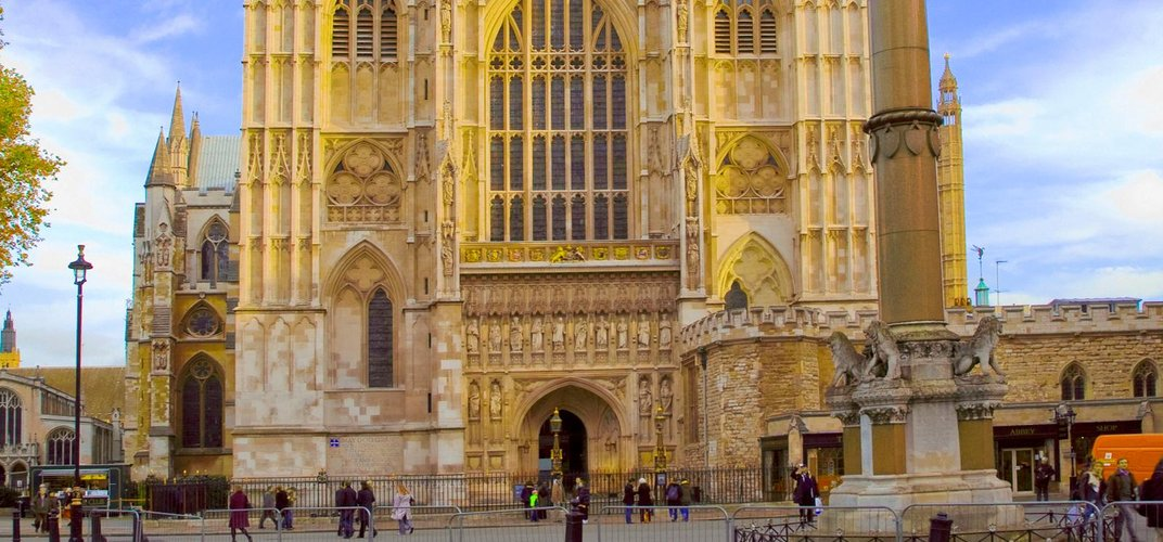 London's historic Westminster Abbey. Credit: London On View