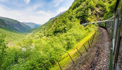 Escape With a Virtual Ride on the World's Steepest Train