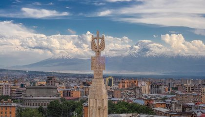 How Ancient Volcanoes Created Armenia's Pink City