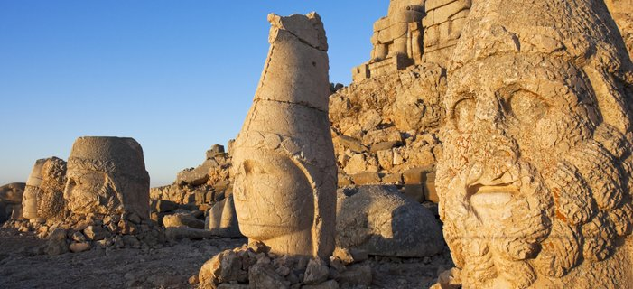 Treasures of Turkey: The Lost Worlds of Anatolia <p>Explore the lost worlds of Turkey as you travel from Gaziantep, one of the oldest continually inhabited cities, to Mt. Nemrut, known for its incredible mountain-top statues and temples, and Cappadocia, an evocative region of sculpted rock formations.</p>