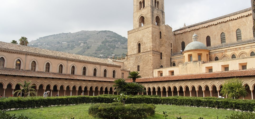 Cloisters of the Monreale Cathedral