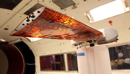 NASA's New, Super-Efficient Airplane Wing Comes With a Twist