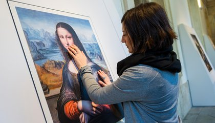 Please Touch the Art: 3-D Printing Helps Visually Impaired Appreciate Paintings