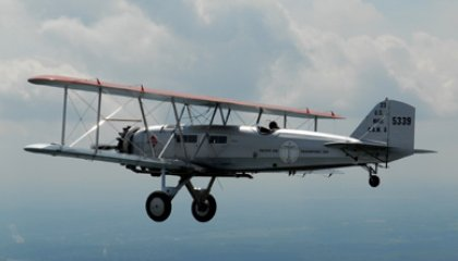 A Ride in the Boeing 40C
